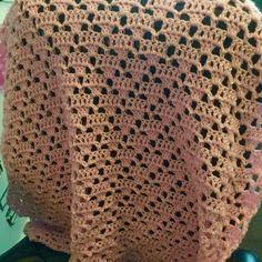 One ball crochet baby blanket