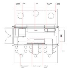 porchetta shipping container kiosk by noiseux + sasseville - designboom   architecture & design magazine