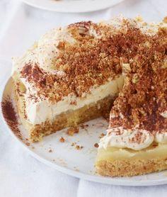Apfel-Tiramisu-Torte: Der Dessert-Klassiker als Torte: knusprig, cremig und herrlich erfrischend!