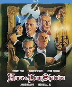 Vincent Price & Christopher Lee & Sheldon Reynolds-House of the Long Shadows Vincent Price, Kino International, Richard Todd, Mystery Plays, Christopher Lee, John Carradine, Lon Chaney Jr, Peter Lorre, Cool Things To Buy