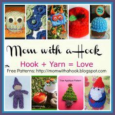 Free crochet patterns by momwithahook