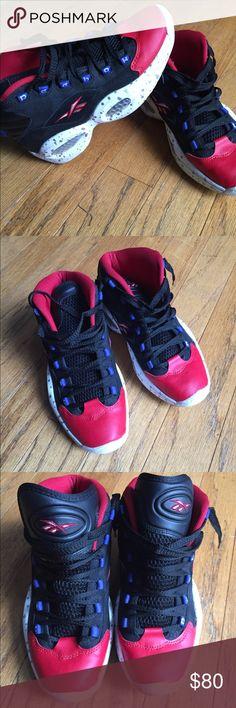 37e3e69e2e0a1f Reebok Question Allen Iverson Sneakers Sixers Men Reebok Question Allen  Iverson Sneakers Size 7 Black
