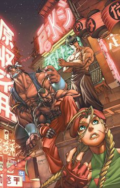 STREET FIGHTER #8//Mark Brooks/B/ Comic Art Community GALLERY OF COMIC ART