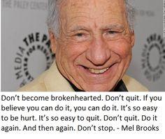 Mel Brooks quote