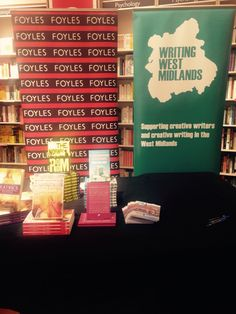 At Foyles Grand Central Bookshop, Birmingham.