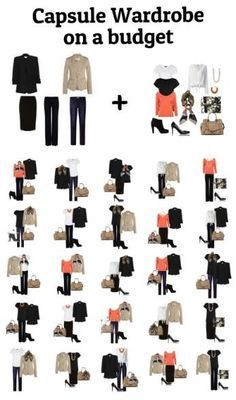 how to create a business casual wardrobe - Google Search