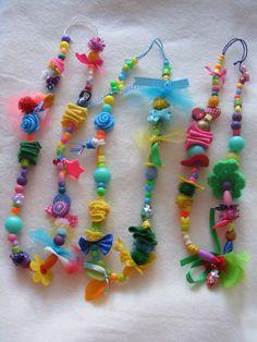 Kettingen - zoet geluk @watdoetvanessanu #crafts #child