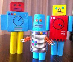 Robots reciclados