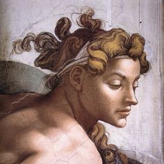 I have always had a fascination with Renaissance Art. This is from The Sistine Chapel, 'The Drunkenness of Noah' by Michelangelo. Fresco, Art Ninja, Michelangelo Paintings, Arte Black, High Renaissance, Sistine Chapel, Renaissance Paintings, Foto Art, Italian Artist