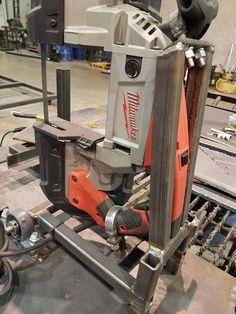 Welding Cart, Diy Welding, Welding Table, Metal Welding, Metal Working Tools, Metal Tools, Wood Tools, Garage Tools, Garage Workshop