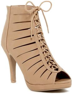 Top Moda Aling Cutout Bootie - Sponsored shoe perfect for a dressier Moana Disneybound!