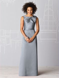 Discover After Six bridesmaid dresses in a wide range of colors, styles, and sizes. You'll be sure to fall in love with these elegant and contemporary dresses! Charcoal Bridesmaid Dresses, High Neck Bridesmaid Dresses, Designer Bridesmaid Dresses, Dressy Dresses, Bridal Dresses, Bridesmaids, Contemporary Dresses, Groom Dress, Satin