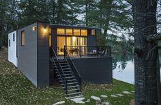 Paul Kariouk · Cross-Laminated-Timber Cottage