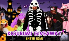 Want to win We're Giving Away THREE Kigurumi!? I just entered to win and you can too. http://gvwy.io/orpks2l