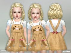 Rabbit Dress  Found in TSR Category 'Sims 4 Toddler Female'