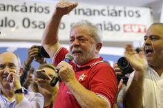 """Emocionado Lula faz apelo: """"Não posso ser preso, o Brasil depende de mim"""""""