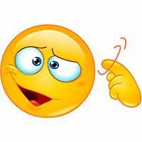 This smiley is suggesting that there may be a few screws loose. Big Emoji, Cool Emoji, Emoji Love, Smiley Emoji, Funny Emoji Texts, Funny Emoji Faces, Emoticon Faces, Animated Smiley Faces, Animated Emoticons