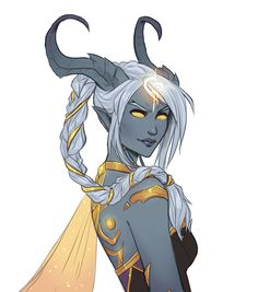 A long time ago I had a draenei paladin named Kivaa. I always wished she could be a part of the Army of the Light, and now she can! If you would like to take part in @rurukatt 's Draecember too, find...