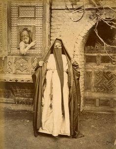 Coptic Woman, Cairo, Egypt, circa 1870's