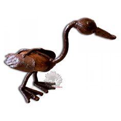 canard en fer forgé, une statuette décorative unique