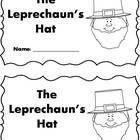 Differentiated Leprechaun's Hat - St. Patrick's Day emergent reader set - 4 versions - sight words, color words and more!