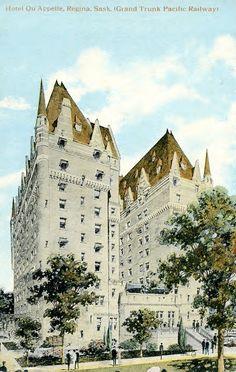 Hotel Qu'Appelle (Grand Trunk Pacific Railway), ... | saskhistoryonline.ca