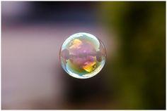Soap bubbles provide beautiful way of capturing the surroundings via reflections. Magical! Via #beautifulnow
