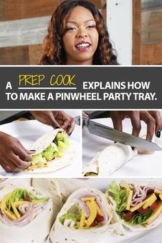 Watch UFCW member Chardonnay Starr, a prep cook and member of Local 75, show you how to create  a party pinwheel tray. Visit ufcw.org/how-tos/ to subscribe to UFCW's DIY tips from more experts in our union family.