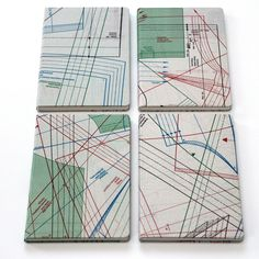Paper notebook with cover made of fahion patterns by brandbook.de