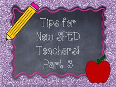 A Special Sparkle  7 Tips for new special education teachers