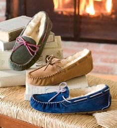 UGG® Australia Women s Dakota Moccasin Slippers  2e3c455a9