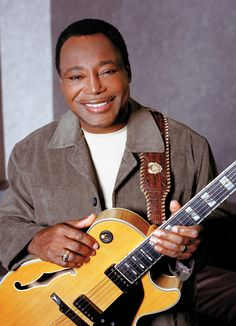 George Benson, well known musician. He is one of Jehovah's Witnesses. Lovely voice...he has found a wonderful hope for the future.