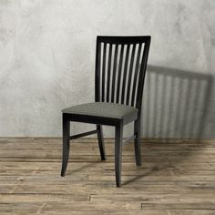 Anny Dining Side Chair in Black