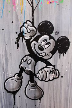 Look Away par Seaty, 2018 Mickey Mouse Wallpaper Iphone, Cartoon Wallpaper Iphone, Disney Wallpaper, Mickey Mouse Shorts, Mickey Mouse Art, Desenho Pop Art, Disney Movie Rewards, Crown Tattoo Design, Graffiti Cartoons