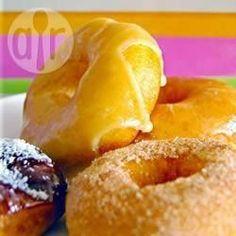Knapperige, romige donuts @ allrecipes.nl