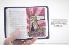 Holy and Illustrated Bible by Adriel Contieri, via Behance