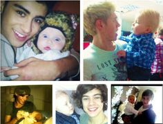 One Directon with baby Lux!(: