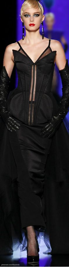 Jean Paul Gaultier Couture SS 2014- #LadyLuxuryDesigns