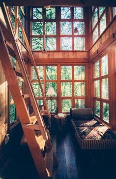 Nice wooden windows