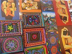 Crafts markets... Ecuadorian Crafts Ecuadorian migajan ornaments