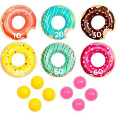 Donut Party Bend Game Oriental Trading Company
