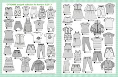 SewZannes Fabrics - Your Online Fabric Solution :: Childrens Fabric Superstore Vintage Patterns, Sewing Patterns, Summer Kids, Diagram, Design, 3, Babys, Magazines, Project Runway