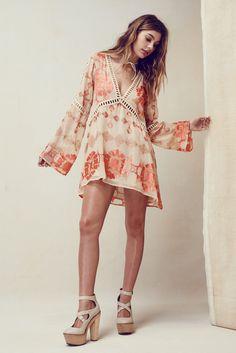 BARCELONA A-LINE DRESS