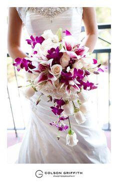 Alondra and Robertos Sunnyvale AND Sausalito wedding!  colorful wedding bridal bouquet