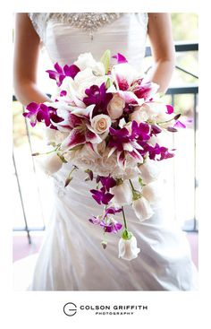 Alondra and Robertos Sunnyvale AND Sausalito wedding!  colorful wedding bridal bouquet