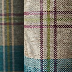 Fully lined to regulate room temperature and reduce draughts, these eyelet curtains are designed with a checked pattern finished in teal and are available in a . Curtains Dunelm, Spare Room, Tartan, Teal, Quilts, Blanket, Living Room, Rugs, Pattern