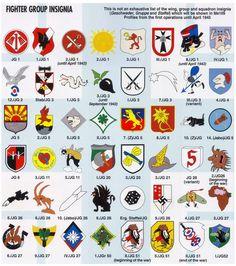more fighter unit insignias