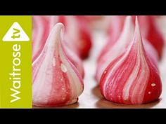 The Meringue Girls, Alex Hoffler and Stacey O'Gorman, make cute meringue kisses with the flavour of Christmassy mince pies. View the recipe here: http://www....