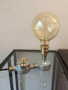 BESPOKE INDUSTRIALE REGOLABILE VINTAGE LAMPADA TUBO PROTETTIVO. MADE to Order leggere descrizione | Home, Furniture & DIY, Lighting, Lamps | eBay!
