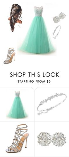 """""""prom"""" by urqveen123 on Polyvore featuring beauty, Swarovski and Sergio Rossi"""